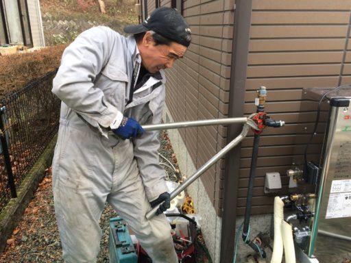 給湯器の交換工事 住宅設備部長 奈良