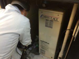 滝沢市 石油給湯器の交換修理