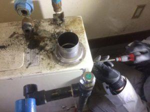 盛岡市 石油給湯器の交換修理 【長府】